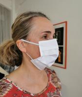 Mund-Nase-Maske Popeline